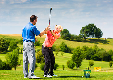 Individual Lessons & On  Course Instruction